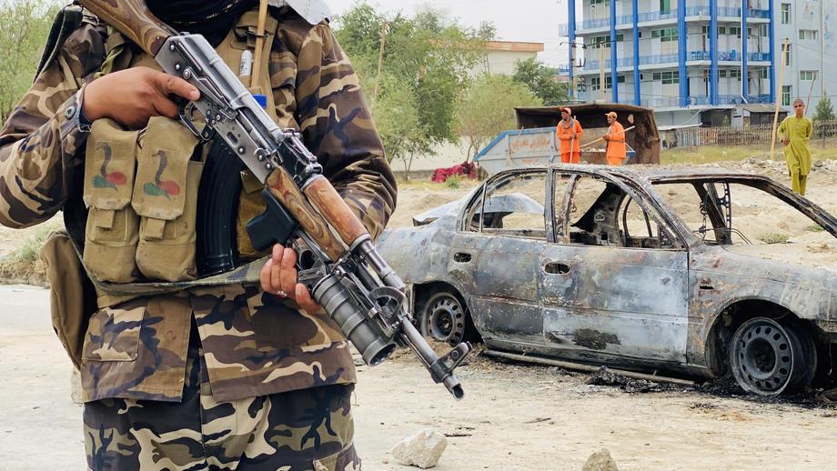 Кабул Авганистан талибанец талибанци