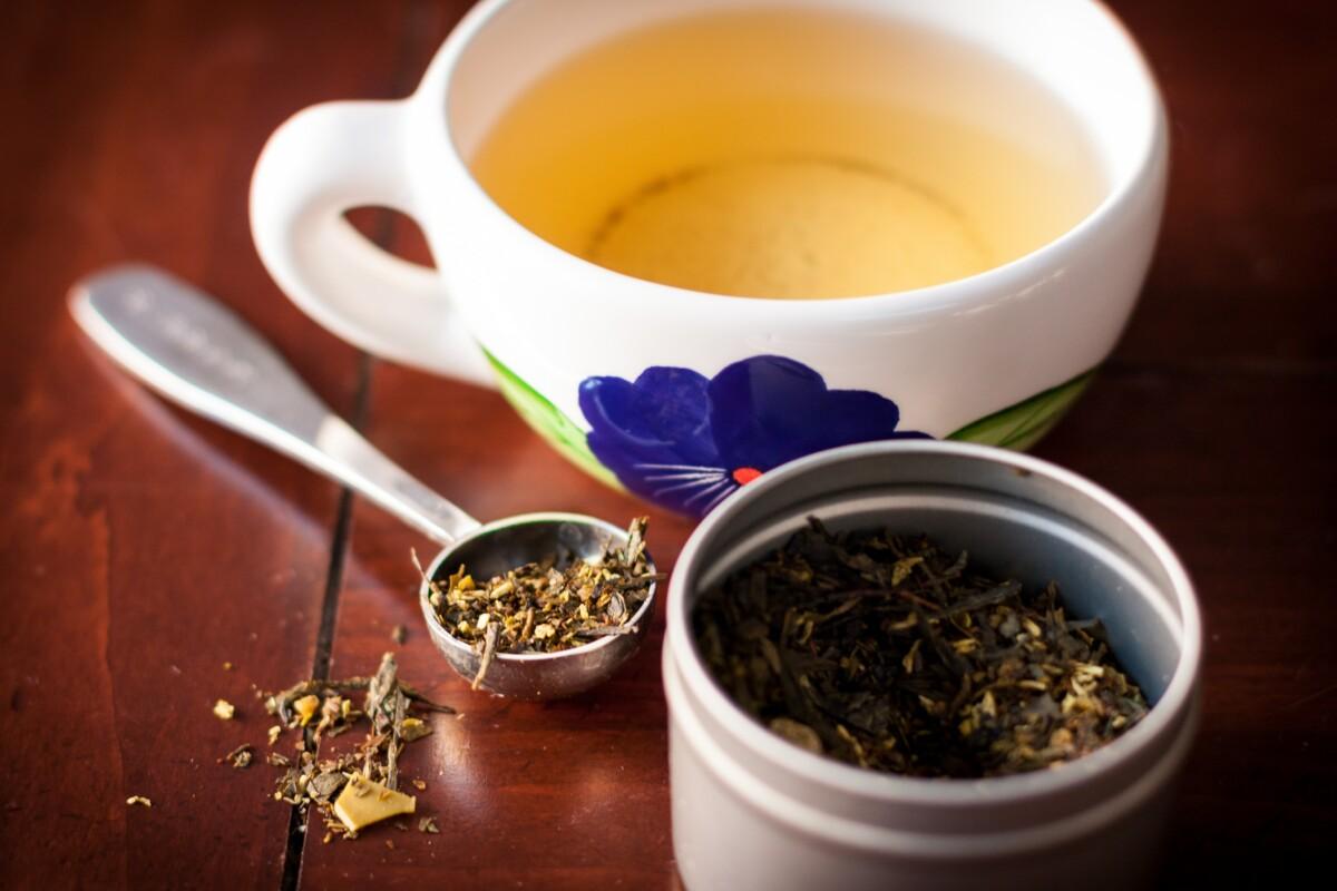 зелен чај топење килограми сладеење