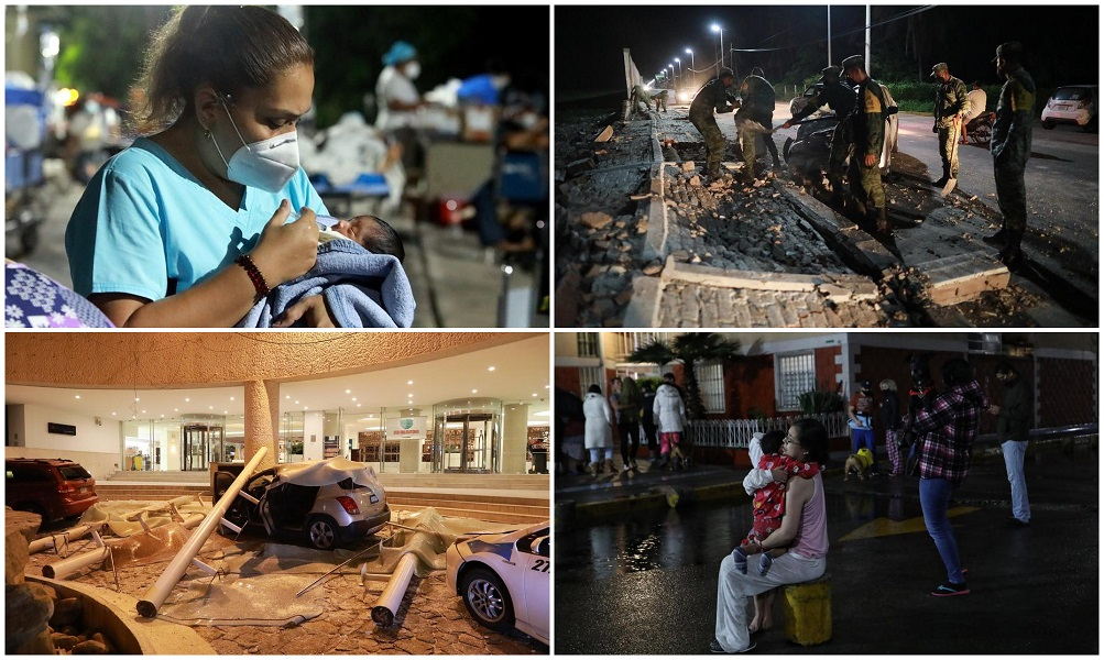 Земјотрес Мексико