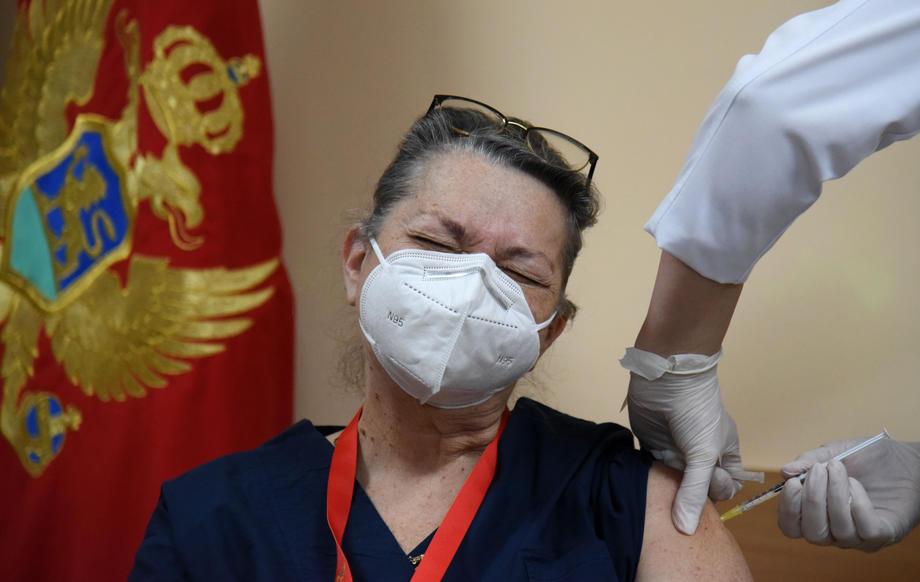 Црна Гора вакцинација ковид-19 коронавирус