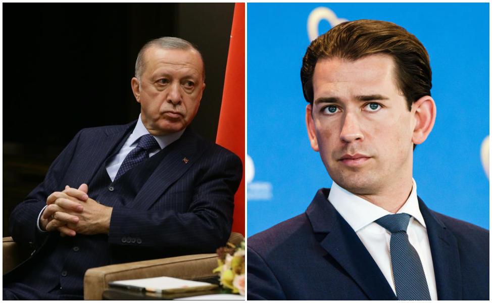 Реџеп Таип Ердоган, Себастијан Курц