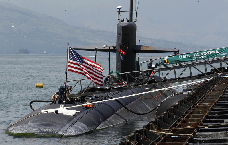 Американска подморница во Јужното Кинеско Море