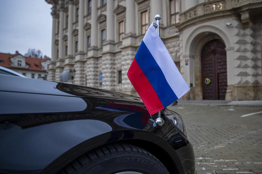 Русија руско знаме Министерство за надворешни работи МНР