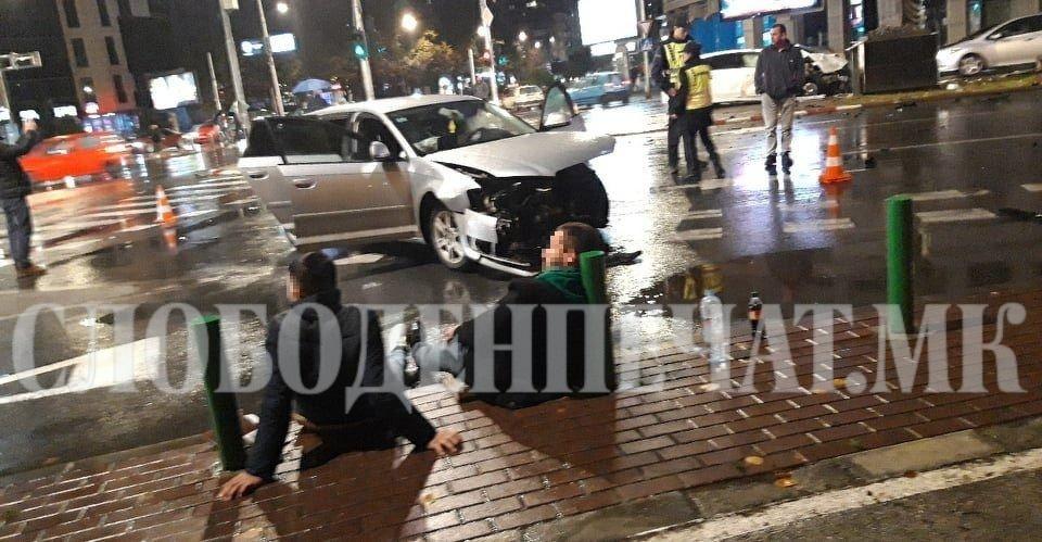 Сообраќајка во Скопје