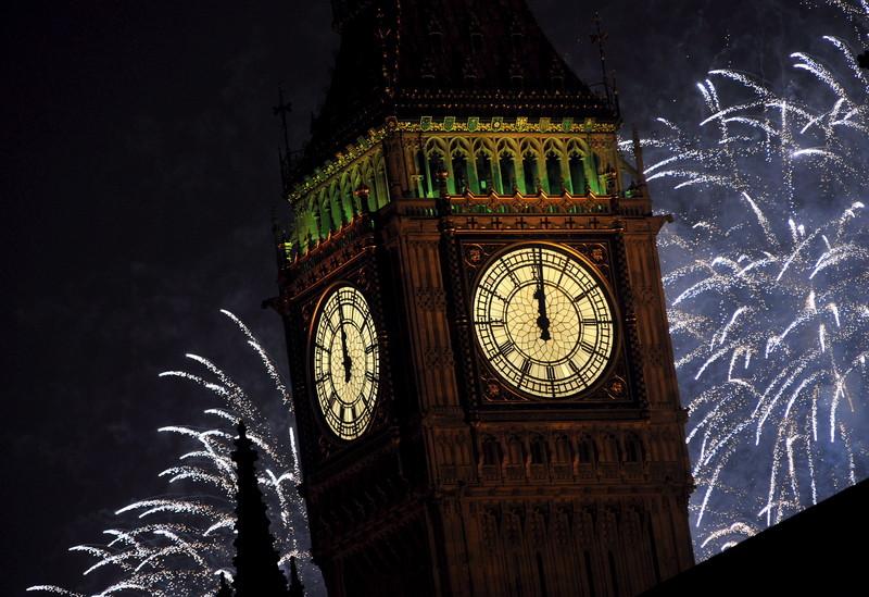 Нова Година во Лондон